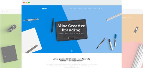 Macro — Joomshaper Multipurpose Creative Joomla Template