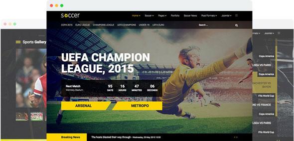 Soccer v1.4 — Joomshaper Sport Team Clubs Joomla Template