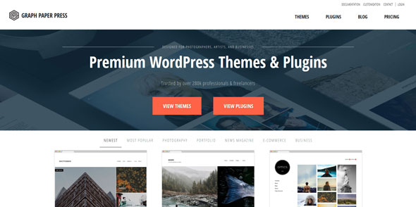 GraphPaperPress Premium Themes Pack