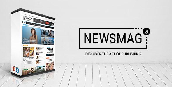 Newsmag v3.2 — News Magazine Newspaper