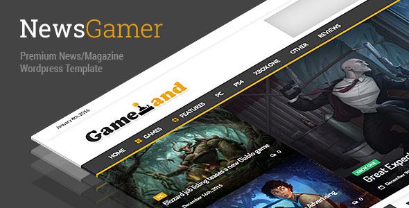NewsGamer v1.7.6 — WordPress News / Magazine Theme