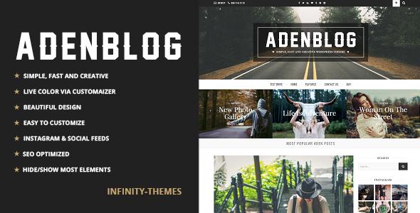 Aden v2.6 — Responsive WordPress Blog Theme
