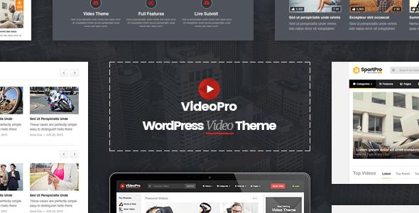 VideoPro v1.3.1 — Video WordPress Theme