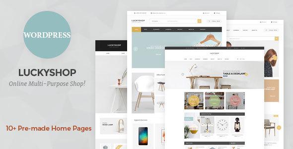 LuckyShop — Multi-Purpose WooCommerce WordPress Theme