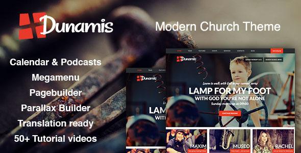 Dunamis — Modern Church theme