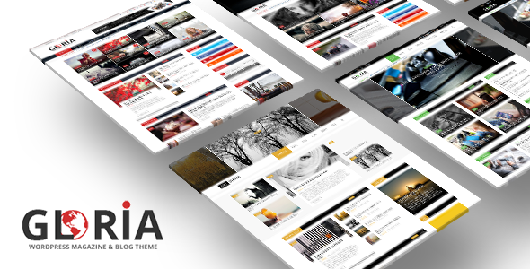Gloria — Responsive News Magazine Newspaper