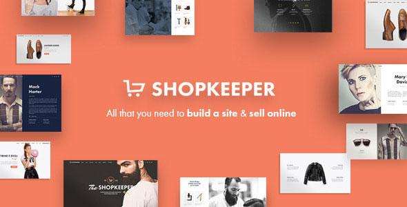 Shopkeeper v1.7.2 — Responsive WordPress Theme