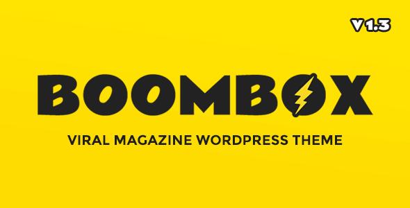 BoomBox v1.3.1 — Viral & Buzz WordPress Theme