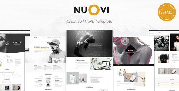 Nuovi — Creative Agency/Personal HTML Template