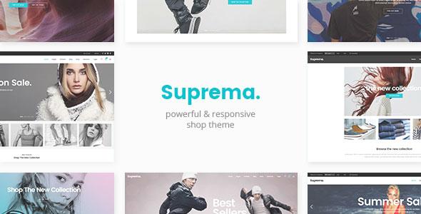 Suprema v1.4 — Multipurpose eCommerce Theme