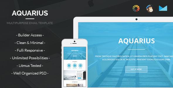 Aquarius — Email Template + Builder Access