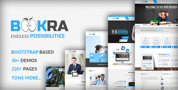 BOOKRA | Multi-Purpose HTML5 Template — Updated