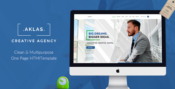 Aklas — Business Creative HTML