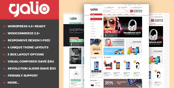 VG Galio v1.7 — Mega Shop Responsive WooCommerce Theme