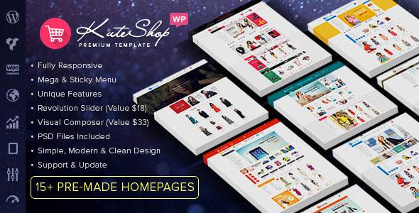 KuteShop v1.6.0 — Multipurpose WooCommerce Wordpres Theme