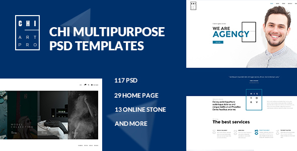 CHI — Multipurpose PSD Template
