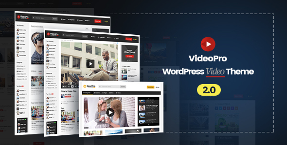 VideoPro v2.0.5.2 — Video WordPress Theme
