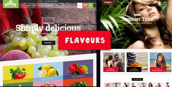 Flavours v1.4 — Multipurpose WooCommerce Theme