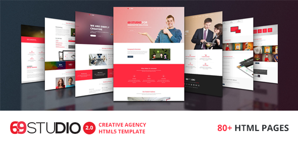 69Studio v2.0 — Creative Agency HTML5 Template