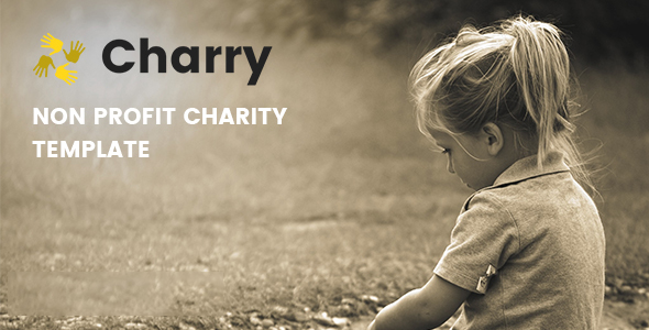 Charry — Non Profit Charity Template