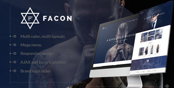 Facon — Fashion Responsive Prestashop Theme