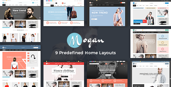 Vina Mogan — Responsive VirtueMart Fashion Template