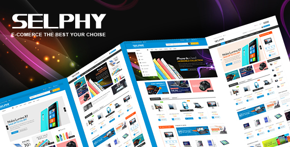 Vina Selphy — Responsive VirtueMart Joomla Template