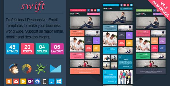 Swift — Elegant Responsive Email Template