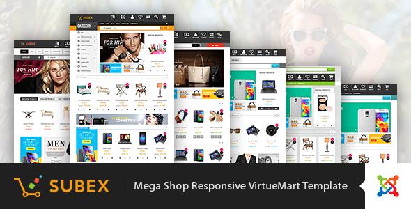Vina Subex — Mega Shop Responsive VirtueMart Template