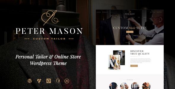 Peter Mason v1.0 — Custom Tailoring and Clothing Store