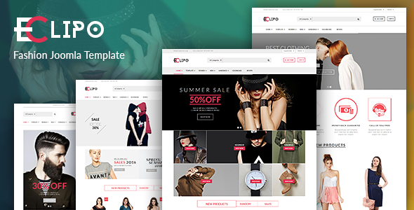 Vina Eclipo — Fashion VirtueMart Joomla Template