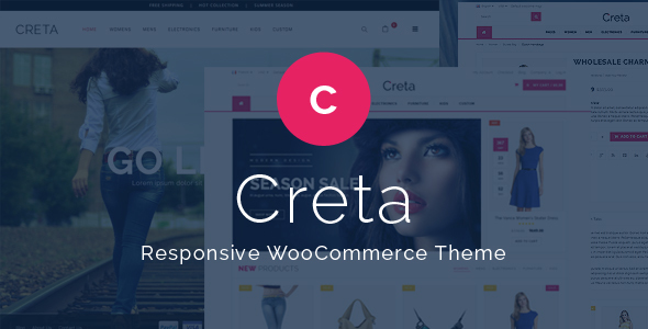Creta v1.3 — Multipurpose WooCommerce Theme