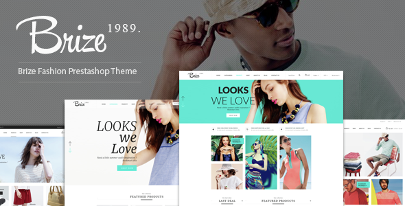 Brize — Responsive Prestashop Fashion Theme
