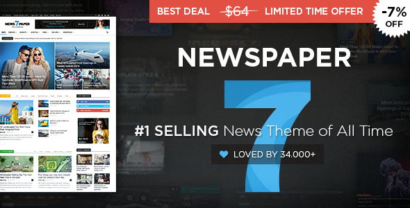 Newspaper v7.8 — WordPress News Theme