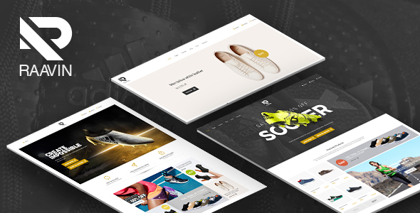 Raavin — Shoes Responsive Prestashop Theme