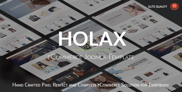 Holax — Multipurpose Hikashop eCommerce Template