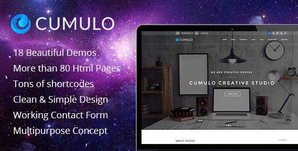 Cumulo — Multipurpose HTML Theme