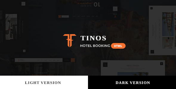 Tinos — Premium Booking Hotel HTML Template