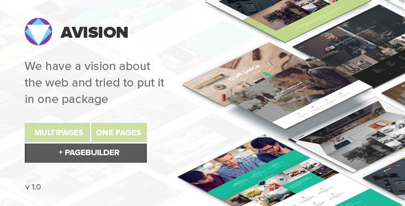 Avision — MultiPurpose HTML5 Template