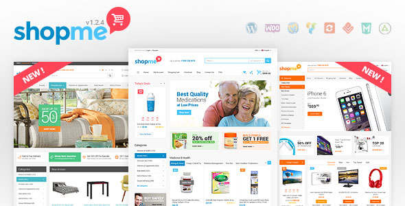 ShopMe v1.3.2 — Woocommerce WordPress Theme