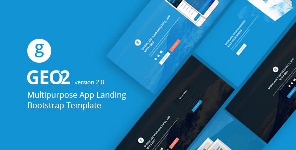 GEO — Responsive Multipurpose Bootstrap 3 App Landing Page Template