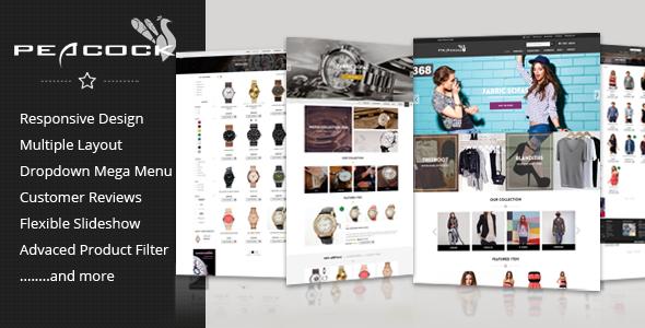 Peacock — Multipurpose Responsive Shopify Theme