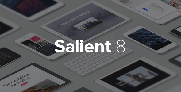 Salient v8.0.15 — Responsive Multi-Purpose Theme
