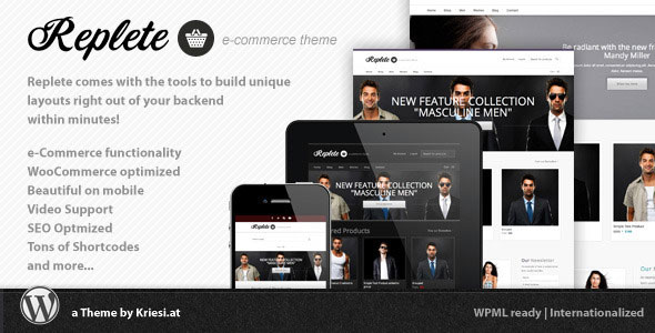 Replete v4.3 — Themeforest e-Commerce and Business