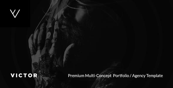 VICTOR — Premium Creative Portfolio / Agency / Photography