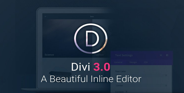 Divi v3.0.43 + PSD Files + Divi Builder v2.0.5