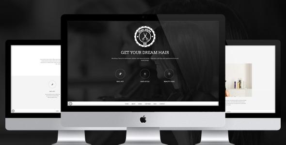 Hair Style — HTML Responsive