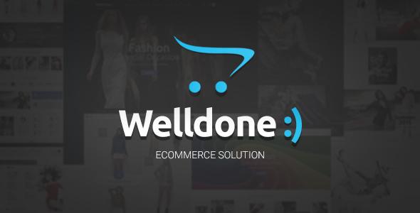 Welldone v1.4.2 — OpenCart theme