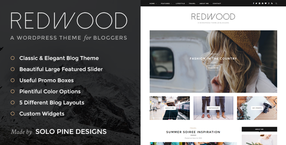 Redwood v1.3 — A Responsive WordPress Blog Theme