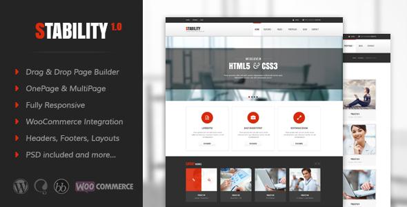 Stability v3.0.6 — Responsive MultiPurpose WordPress Theme